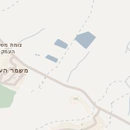 מדהים מפת יקנעם עילית - מפה של רחובות, עסקים ובתים ביקנעם עילית - מפות ZV-98