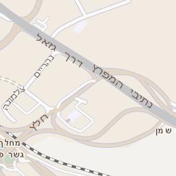 מעולה מפה של רחוב נווה גנים בחיפה - מפות בזק b144 RR-35