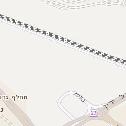 מבריק מפה של רחוב נווה גנים בחיפה - מפות בזק b144 AS-37