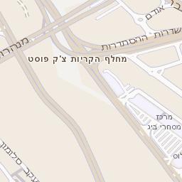 תוספת מפה של רחוב נווה גנים בחיפה - מפות בזק b144 TZ-12