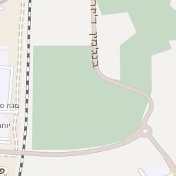 מגניב מפה של רחוב גבורי ישראל בנתניה - מפות בזק b144 VX-23