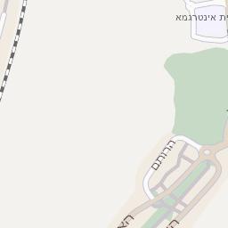 נפלאות מפה של רחוב גבורי ישראל בנתניה - מפות בזק b144 HU-56