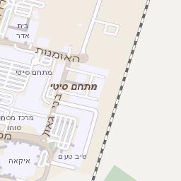 מאוד מפה של רחוב גבורי ישראל בנתניה - מפות בזק b144 FT-44