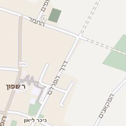מגה וברק מפה של רחוב ארסוף קדם בארסוף - מפות בזק b144 YR-37