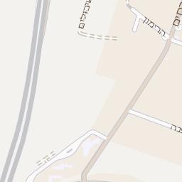 מגניב מפה של רחוב ארסוף קדם בארסוף - מפות בזק b144 IJ-87