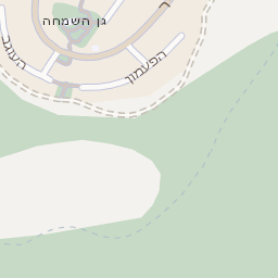 מבריק מפה של רחוב גינות שומרון בקרני שומרון - מפות בזק b144 FM-39