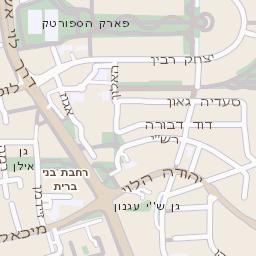 מעולה  מפה של רחוב עזר ומרזוק בקרית אונו - מפות בזק b144 SK-03