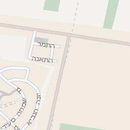 מצטיין מפה של רחוב אזור תעשיה כנות בגדרה - מפות בזק b144 ZT-51