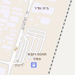 עדכני מפה של רחוב גיבורי ישראל 24 בנתניה - מפות בזק b144 FI-99