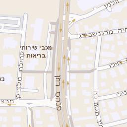ניס מפה של רחוב רוזן פנחס 72 בתל אביב יפו - מפות בזק b144 GS-21