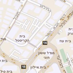 מדהים מפה של רחוב מנחם בגין 7 ברמת גן - מפות בזק b144 JB-25
