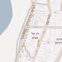 אדיר מפה של רחוב בן יהודה 32 בתל אביב יפו - מפות בזק b144 HU-58