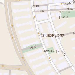 טוב מאוד מפה של רחוב לה גארדיה 76 בתל אביב יפו - מפות בזק b144 GT-74