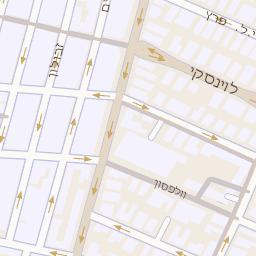 מתקדם מפה של רחוב שוקן 7 בתל אביב יפו - מפות בזק b144 QG-64