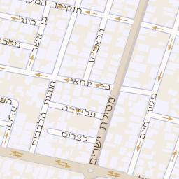 האחרון מפה של רחוב שוקן 13 בתל אביב יפו - מפות בזק b144 IH-32