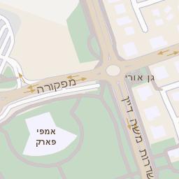 מעולה מפה של רחוב הבנים 14 באשדוד - מפות בזק b144 MN-39