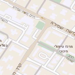 כולם חדשים מפה של רחוב הבנים 4 באשדוד - מפות בזק b144 LZ-39