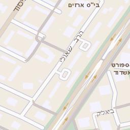 האופנה האופנתית מפה של רחוב הבנים 14 באשדוד - מפות בזק b144 WU-89