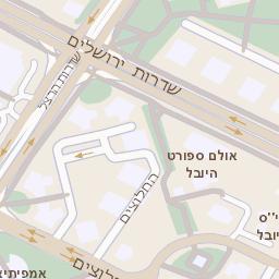 מגניב ביותר מפה של רחוב הבנים 14 באשדוד - מפות בזק b144 MF-54
