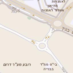 מתקדם מפה של רחוב הבנים 14 באשדוד - מפות בזק b144 BT-53