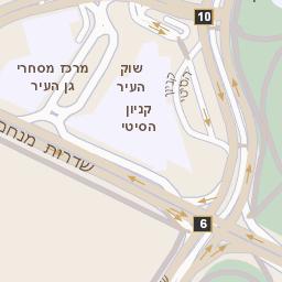 מצטיין מפה של רחוב שד הרצל 1 באשדוד - מפות בזק b144 IN-89