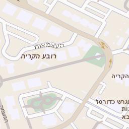 אולטרה מידי מפה של רחוב שד הרצל 1 באשדוד - מפות בזק b144 WQ-98